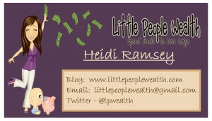 Little People Wealth Business Card