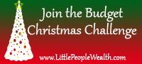 Budget Christmas Challenge